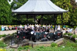 Grange band stand